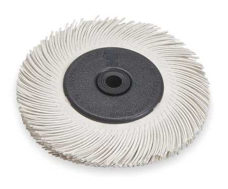 Radial Bristle Brush, T-C, 6Diax7/16W, 120G