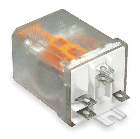 Enclosed Power Relay, 5 Pin, 24VAC, SPDT