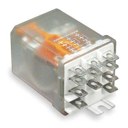 Enclosed Power Relay, 3PDT, 120VAC Coil