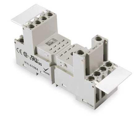 Relay Socket, Finger Safe, Square, 14 Pin