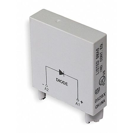 Relay, Socket Module, Diode, 2Pin, 6-250VDC