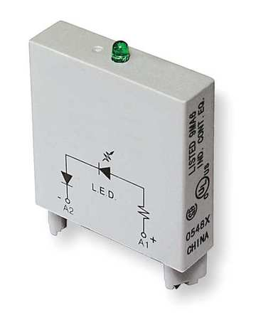 Relay, Socket Module, LED, 2Pin, 24VAC/VDC