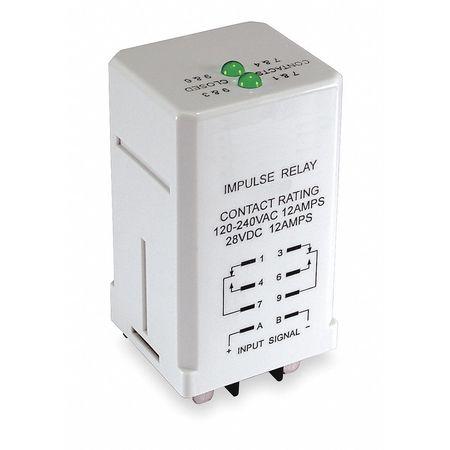Impulse Sequencing Relay, 8 Pins, 24VAC
