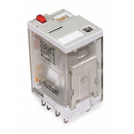 Plug In Relay, 8 Pins, Square, 240VAC