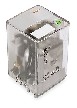 Plug In Relay, 11 Pins, Square, 12VDC