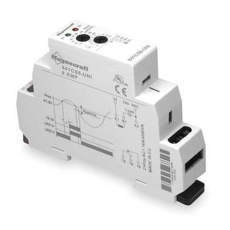 Current Sensing Relay, 0.2to2A, 24to240VAC