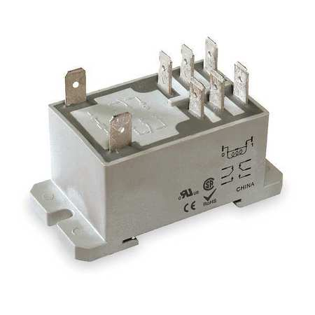 Enclosed Power Relay, 8 Pin, 24VDC, DPDT