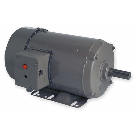 Farm Duty Motor, 3 Ph, TEFC, 1 HP, 1745 RPM