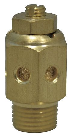 Speed Control Muffler, 1 NPT, 1 5/16 Hex