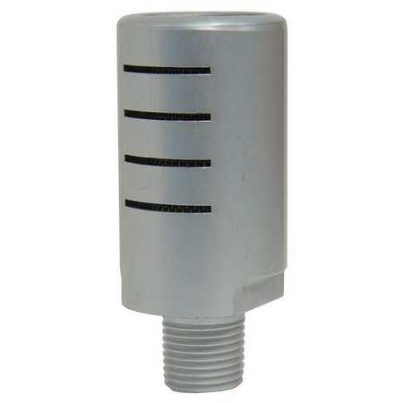 Silencer Muffler, 3/8 In. NPT, 1 In. Hex