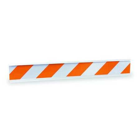 Barricade Beam, Orange/White