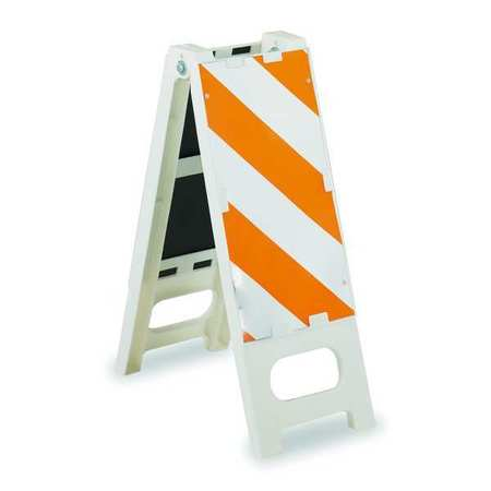 Barricade, Orange/White, 36 In. H, 12 In. W