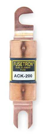 200A Time Delay Bolt-On Paper Fuse 72VDC