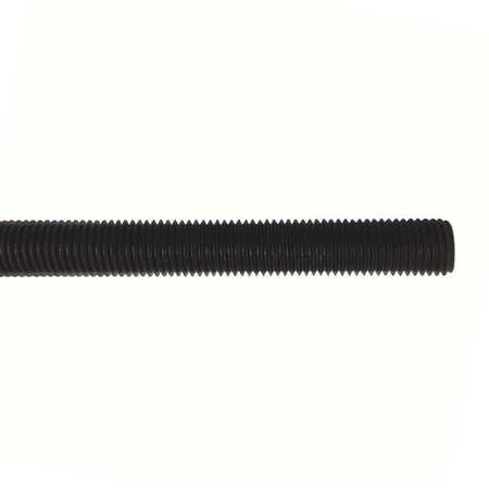 "7/8""-9 x 2' Plain Nylon Threaded Rod"
