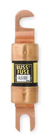 500A Fast Acting Bolt-On Paper Fuse 48VDC
