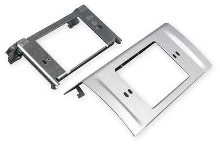 NEMA Device Plate, Gray, Steel, Plates