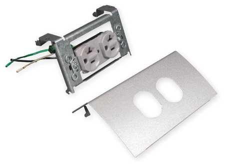 Duplex Device, Ivory, Steel, Plates