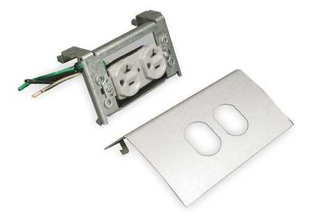 Duplex Device w/20A Receptacle, Gray