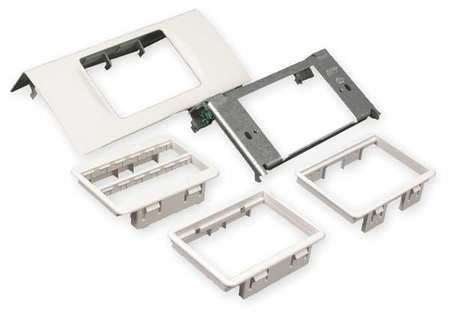 Bezel Adapter Plate, Ivory, Steel, Plates
