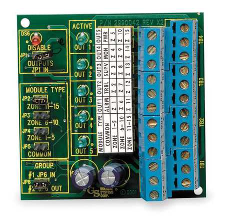 Remote Relay Module, H 3 3/8 x W 2 3/4 In