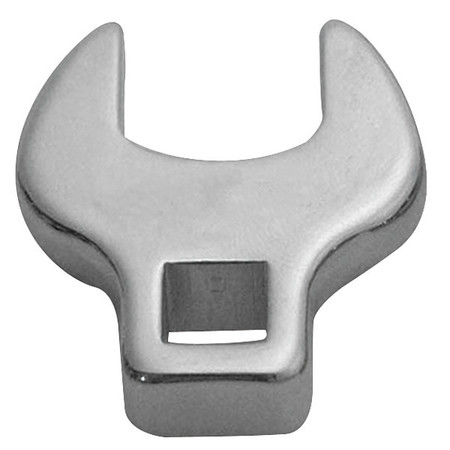 "Crowfoot Socket, Open End, 3/8"" Driv, 7/16"""