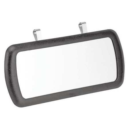 Large Mirror, Clip-On, 9 3/4 In L