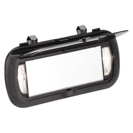 Large Visor Mirror, Clip-On/Lighted