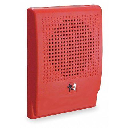 Alarm Speaker,  H 1 x L 6 1/2 In