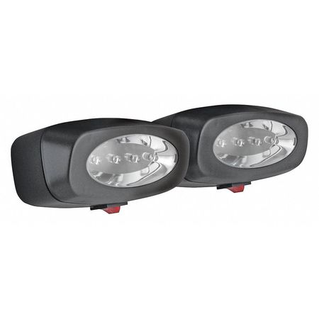 Work Light, Oval, LED, 6 In L, PK2