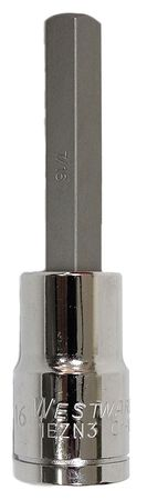 Socket Bit, 1/2 in. Dr, 7/16 in. Hex