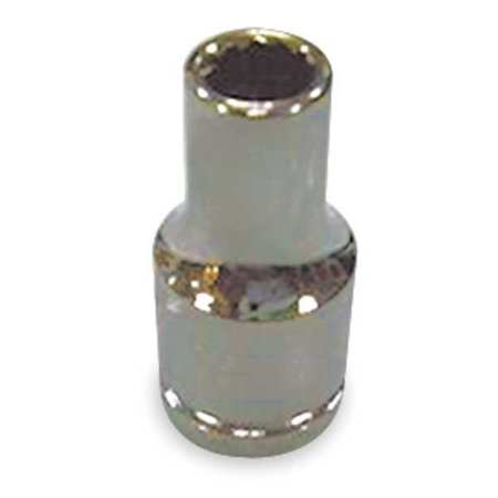 Socket, 1/4 in. Dr, 9mm, 12 Pt.