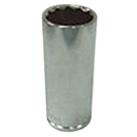 Socket, 1/4 in. Dr, 12mm, 12 Pt.