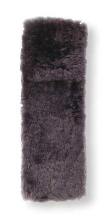 Sheepskin Shoulder Pad, Charcoal
