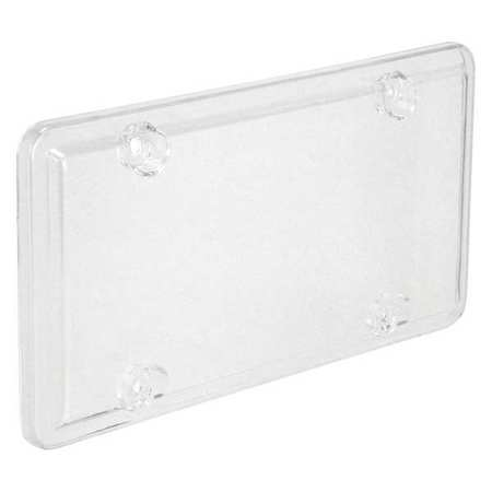 License Plate Cover, Clear, Polymer