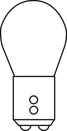 Mini Lamp, 1157LL, 8/27W, S8, 13/14V, PK2