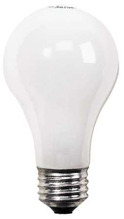 GE LIGHTING 25W,  A19 Incandescent Light Bulb,  Min. Qty 2