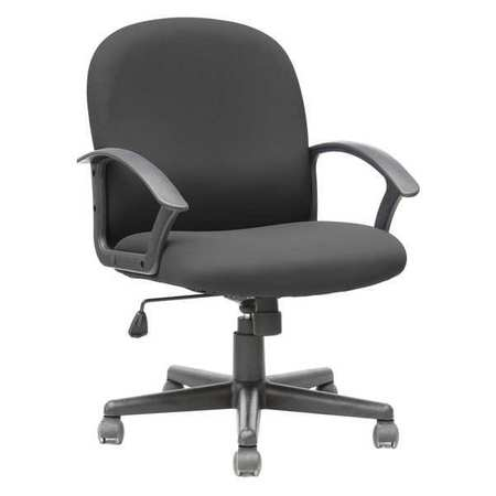 "Executive Chair,  Fabric Black,  Height 35-1/2"" to 39-3/8"""
