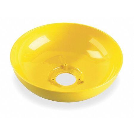 Plastic Eyewash Bowl,  10 In Dia