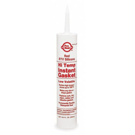 RTV Silicone Sealant, 11.1 oz Cartridge