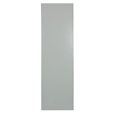 "58"" x 22"" Panel Toilet Partition,  Honeycomb,  Gray"