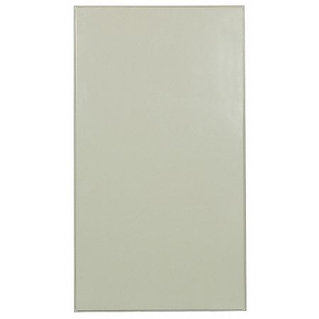 "58"" x 22"" Panel Toilet Partition,  Honeycomb,  Almond"