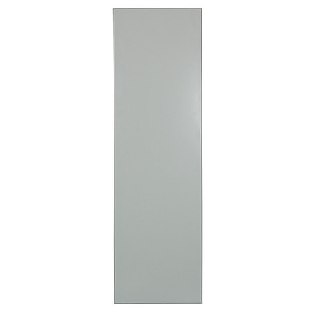 "42"" x 24"" Urinal Screen Toilet Partition,  Cellular Honeycomb,  Gray"