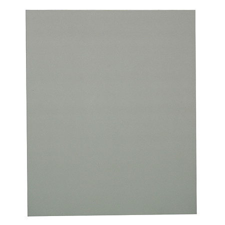 "55"" x 22"" Panel Toilet Partition,  Solid Polymer,  Gray"