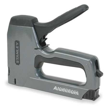 Staple/Nail Gun, Manual, Hvy Duty, 27/64in