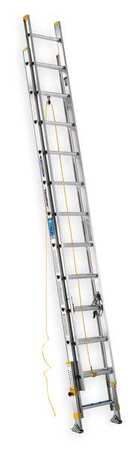 Extension Ladder, Aluminum, 24 ft., I