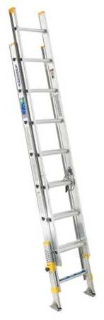 Extension Ladder, Aluminum, 16 ft., I