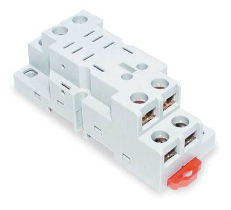 Relay Scket, Finger Safe, Square, 8 Pin, 16A