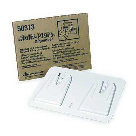 Wiper Dispenser, Hands Free, (1) Box, White