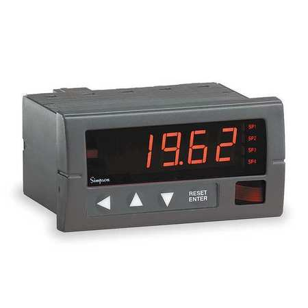 Digital Panel Meter, DC Voltage