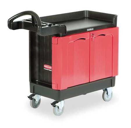 Trade Cart/Service Bench, 500 lb., Black